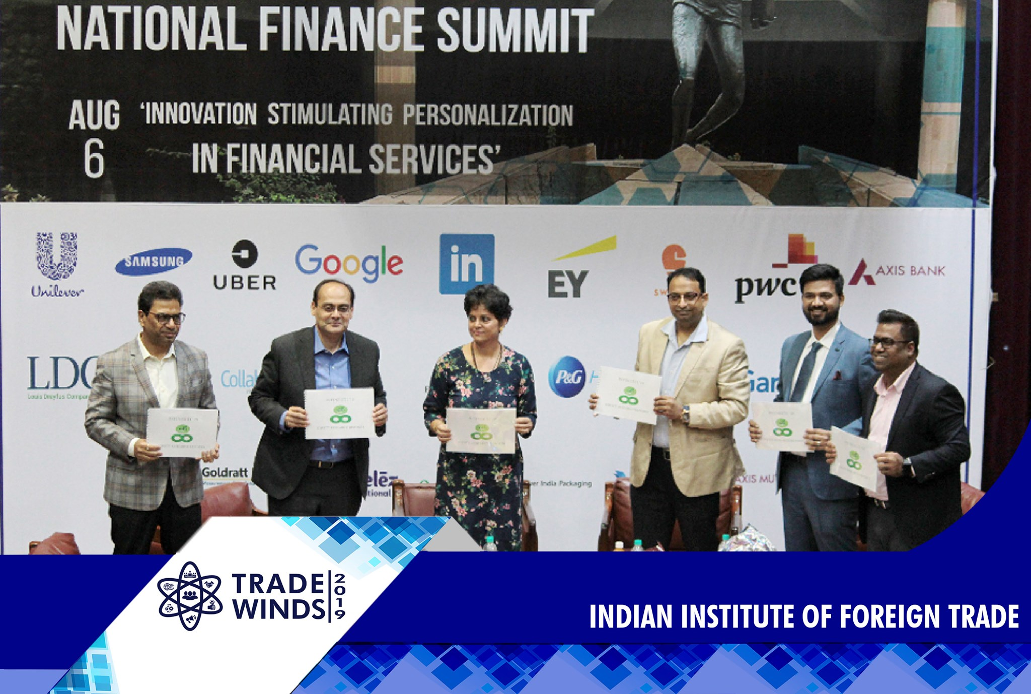 IIFT hosted National Finance Summit and National Trade Summit on the second day of Trade Winds 2019