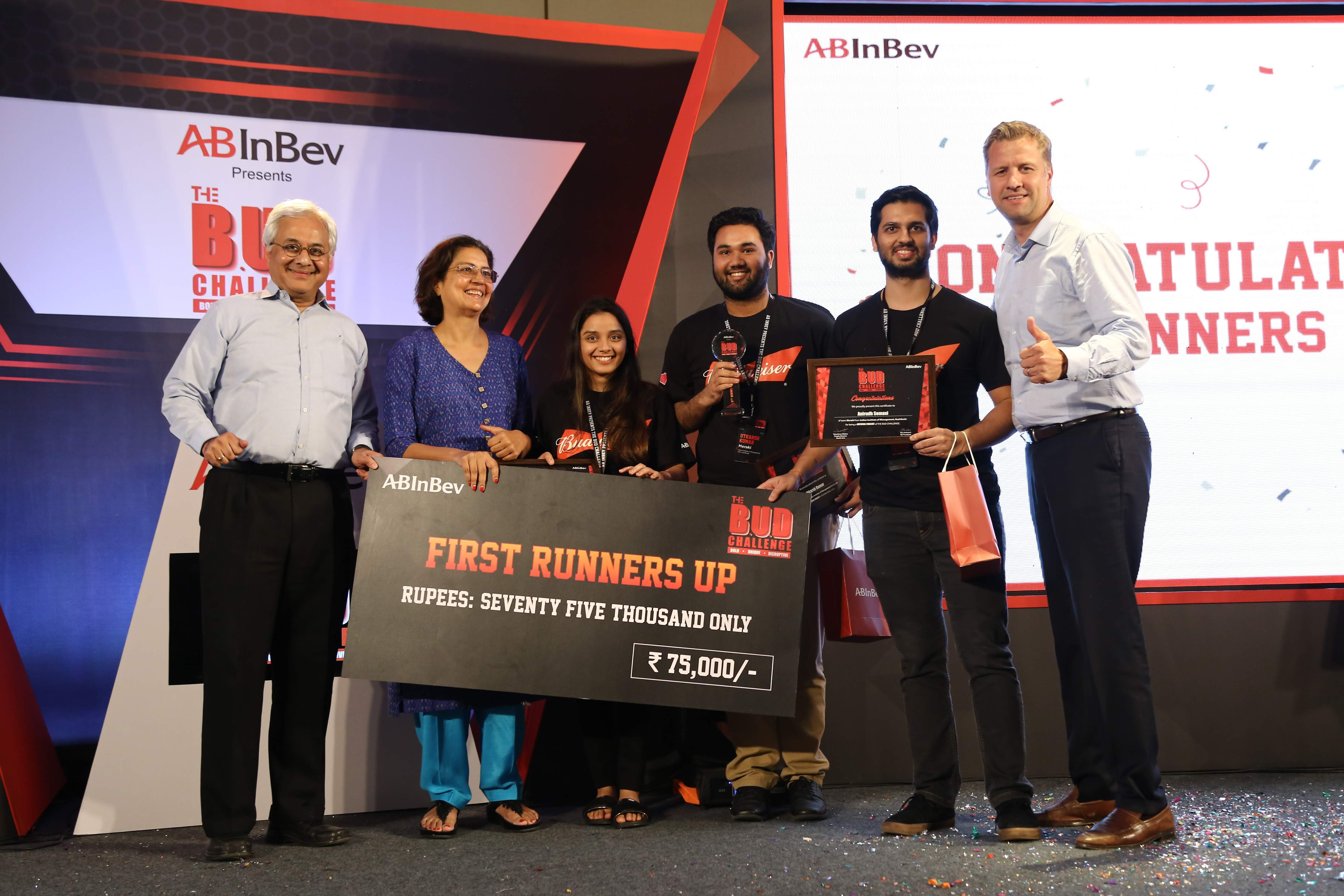 The enlightening journey of The BUD Challenge by AB InBev -By Team Meraki from IIM Kozhikode