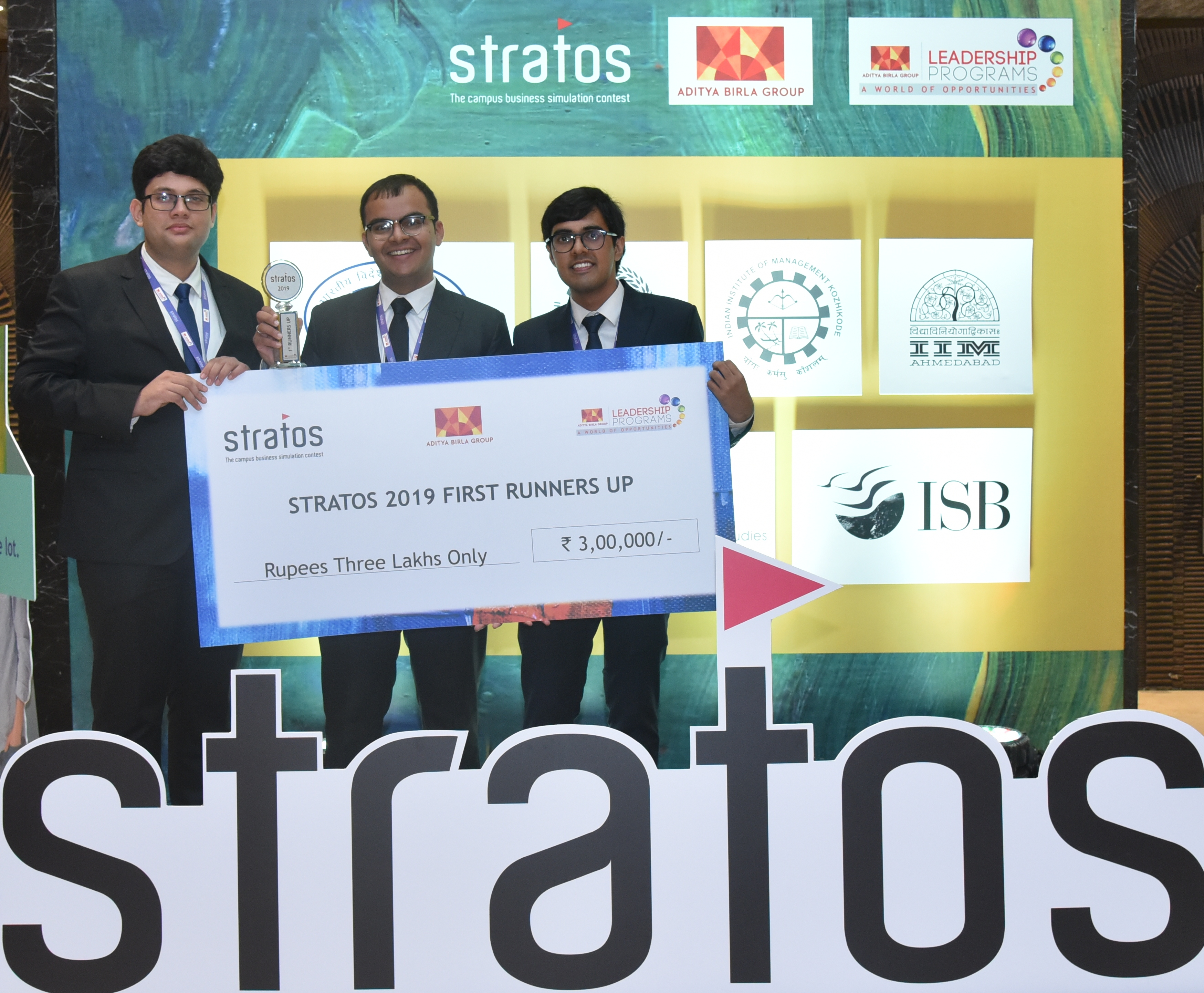 Fighting the battle with thorough research: Team Dreamers | First Runners-Up of ABG Stratos 2019