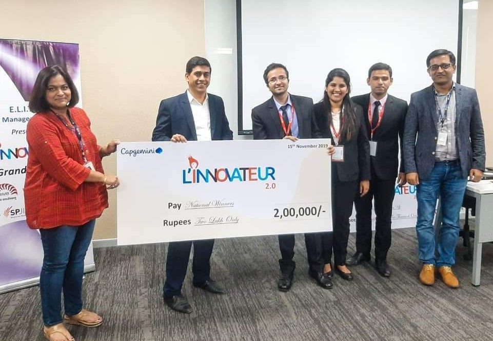 Team Eternals – How the National Winners of Capgemini L'innovateur 2.0 lived up to their name