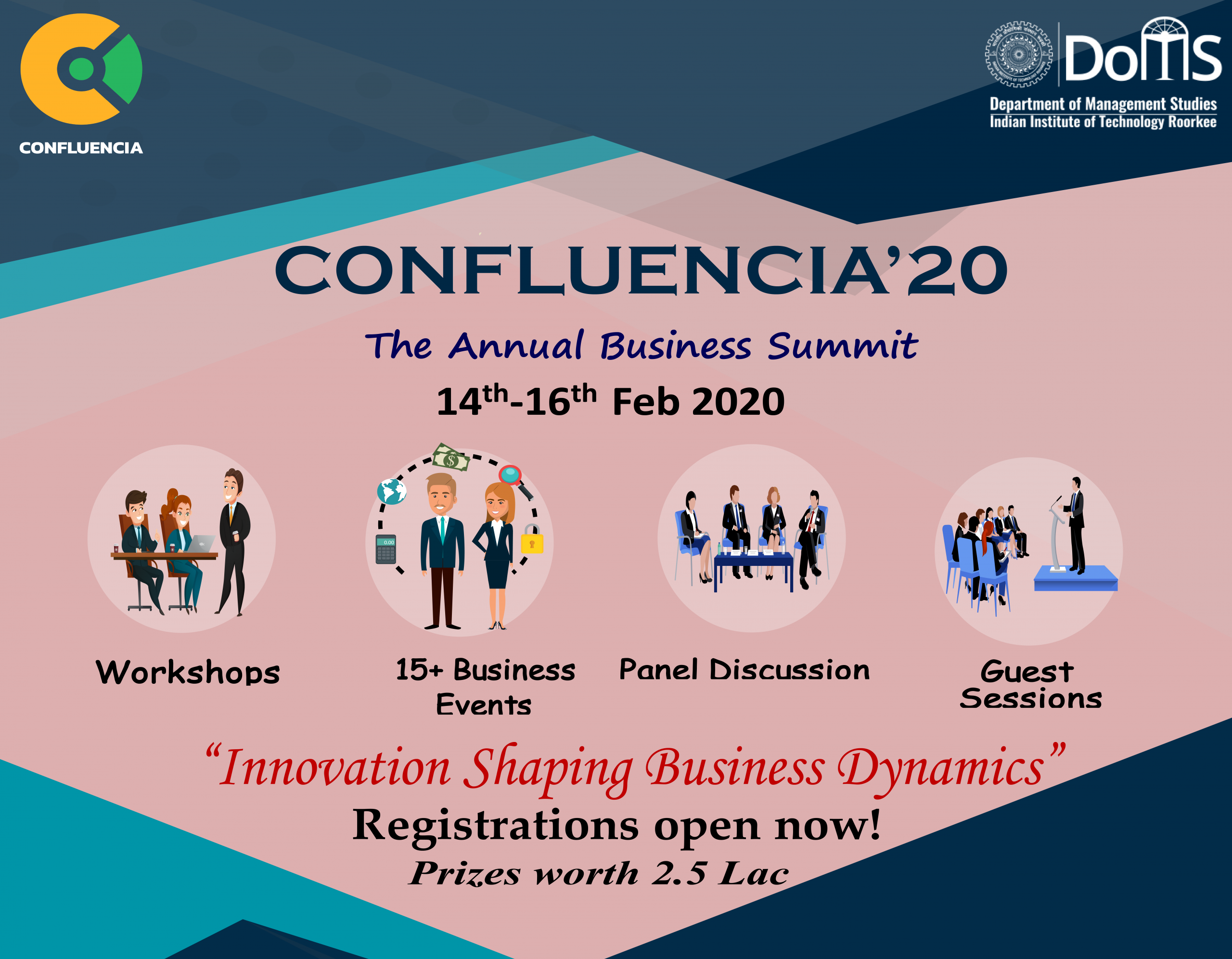 Confluencia-The Annual Business Summit of IIT Roorkee