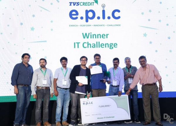 Amidst a million things, a competition had to be won | National Winners of TVS Credit E.P.I.C IT Challenge