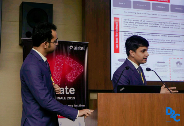 Working through holidays to lift the Airtel iCreate 2019 trophy   Team Ideates from IIM Kashipur