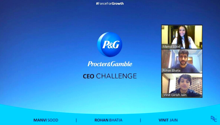 How to win the P&G The CEO Challenge? -By Team SPJIMR from SPJIMR Mumbai