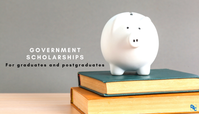 5 Government scholarships for every graduate and postgraduate students
