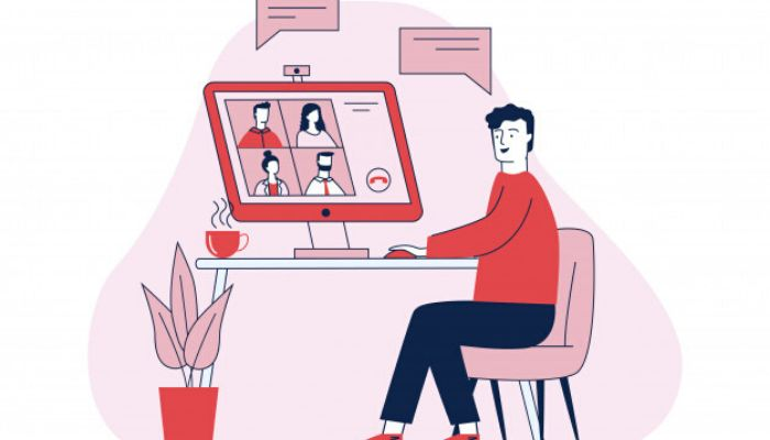 Follow these tips to make an impression on video calls while working from home