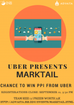 Marktail By Uber Indian School Of Business (ISB), Mohali