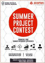 Summer Project Contest National Institute Of Industrial Engineering (NITIE), Mumbai