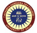 Acharya Narendra Dev College , University of Delhi (ANDC)