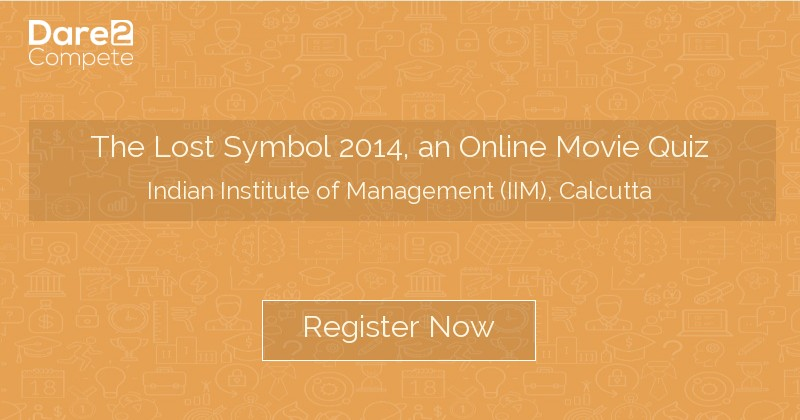 The Lost Symbol 2014 An Online Movie Quiz From Indian Institute Of