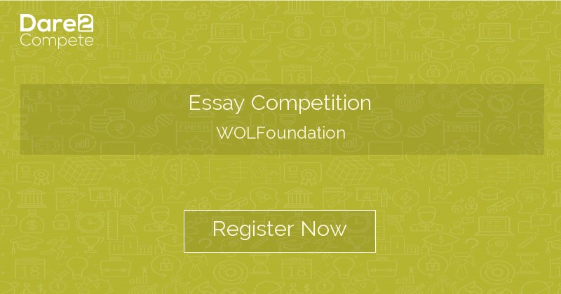 wolfoundation essay competition 2014
