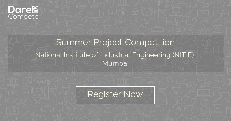 Summer Project Competition under International Project
