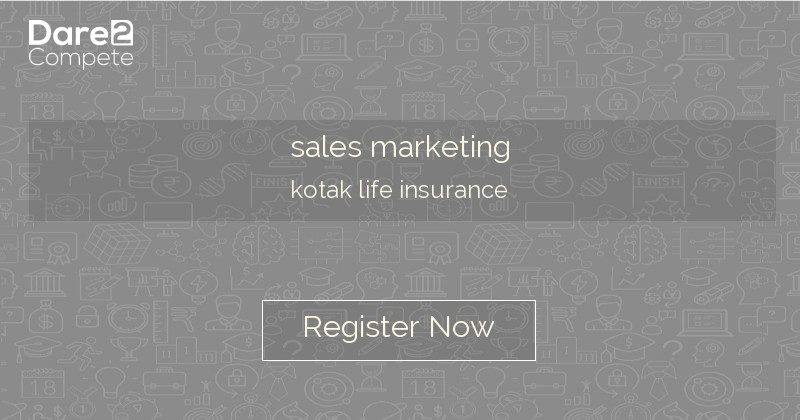Sales Marketing From Kotak Life Insurance Kotak