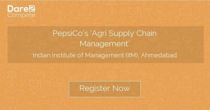PepsiCo's 'Agri Supply Chain Management' under IIMA - The Red Brick