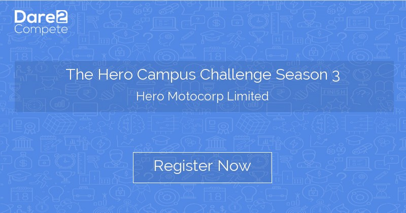Hero Campus Challenge Season 3 from Hero MotoCorp Limited
