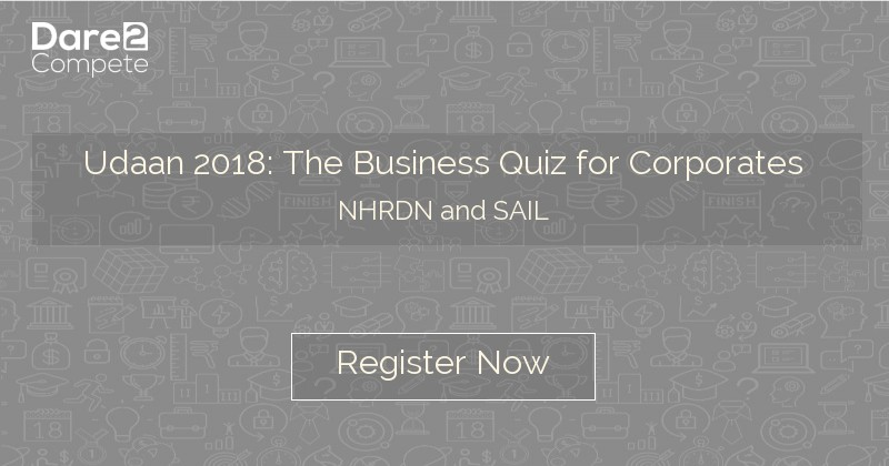 Udaan 2018: The Business Quiz for Corporates from NHRDN and SAIL