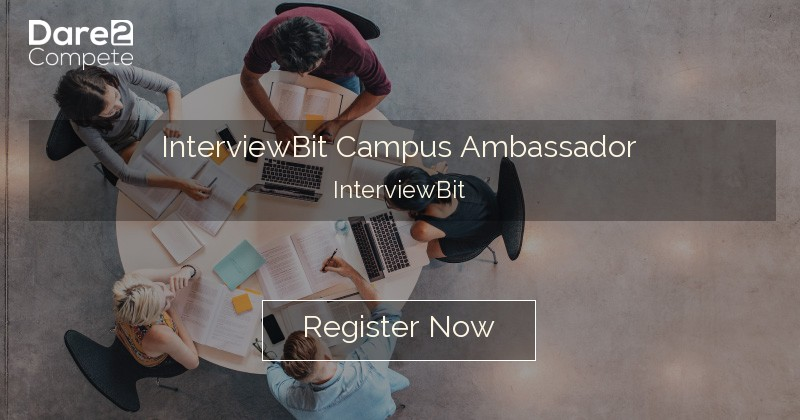 InterviewBit Campus Ambassador from InterviewBit