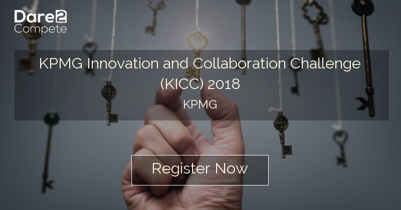 KPMG Innovation and Collaboration Challenge (KICC) 2019 from KPMG