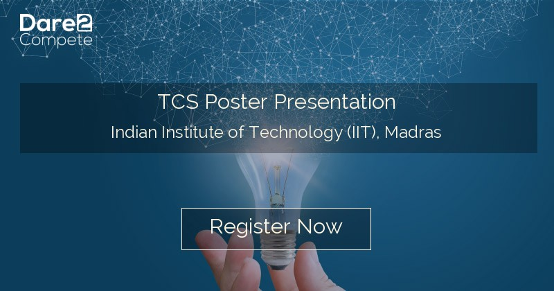 TCS Poster Presentation under Shaastra from Indian Institute