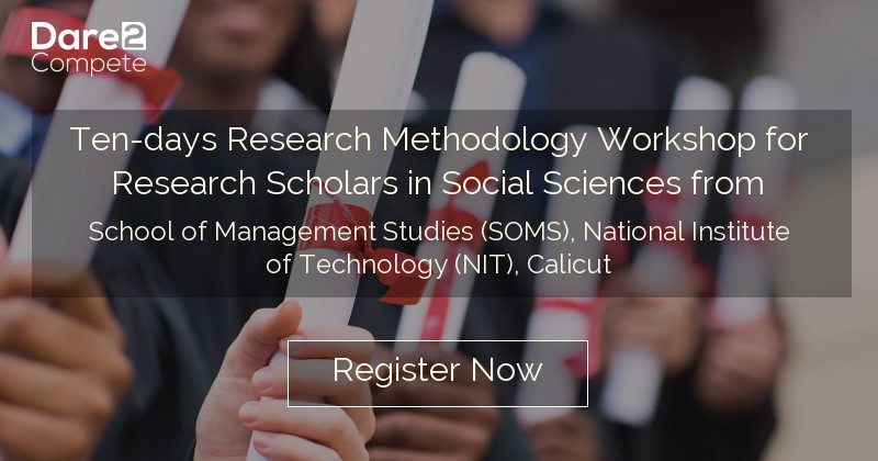 Ten-days Research Methodology Workshop for Research Scholars in