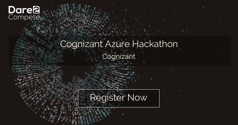 Cognizant Azure Hackathon from Cognizant