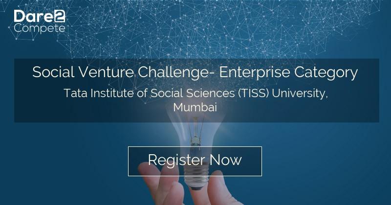 Social Venture Challenge- Enterprise Category under iPreneur
