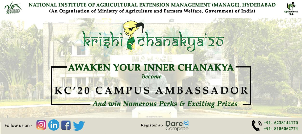 Campus Ambassador Program Krishi Chanakya 2020 under ...