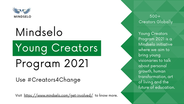 Call for Submissions: Mindselo Young Creators Program 2021 from Mindselo